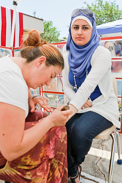 turkish tattoos. Henna tattoos are considered